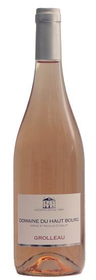 Grolleau Rosé - IGP du Val de Loire - Domaine du Haut Bourg | DOMAINE DU HAUT BOURG