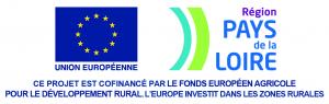 Ce projet est cofinance par le fond européen agricole pour le développement rural.